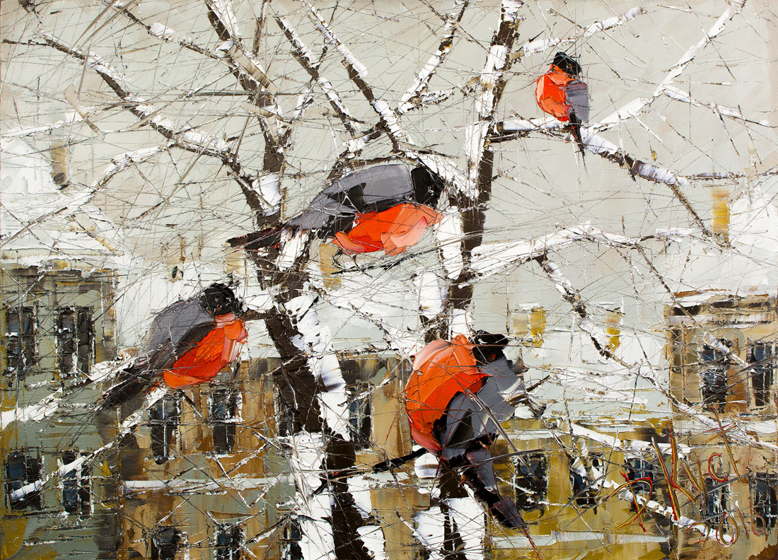The bullfinches