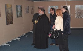 The exhibition at the Smolny 2012-2013, SPb