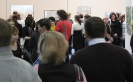 The Audience at the Exhibition