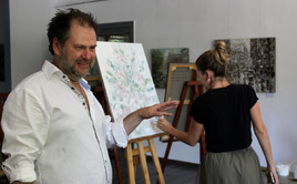 Master class of artist Dmitry Kustanovich  | Sochi August 11, 2019