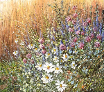 Sold paintings Wild flowers