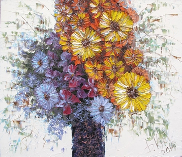 Sold paintings Autumn Bouquet
