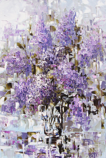Sold paintings Lilac