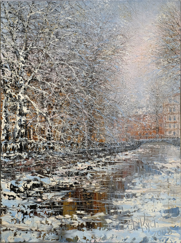 Sold paintings Snowy Morning