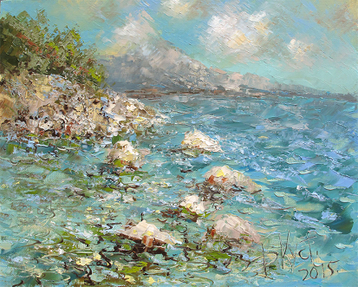 Sold paintings The crimean etude