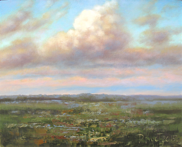 Sold paintings The etude The cloud after the rain