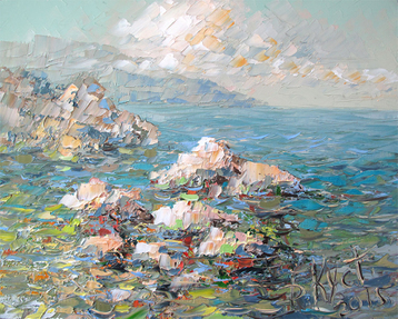 Sold paintings The crimea etude