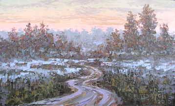 Gallery The road at dawn