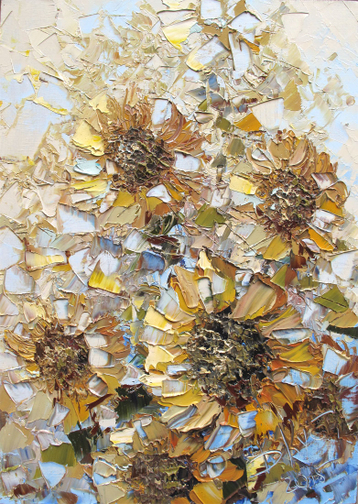 Sold paintings Sunflowers