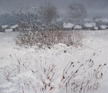 Personal gallery In Winter at the Village's End. From SeriesThe Russian