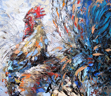 Miscellanea Fighting rooster