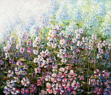 Sold paintings Phlox