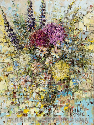 Sold paintings The bouquet of wild flowers