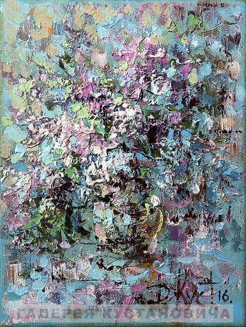 Sold paintings The Lilac