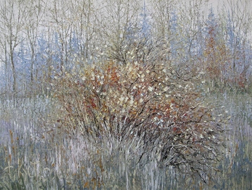 Sold paintings The autumn bush