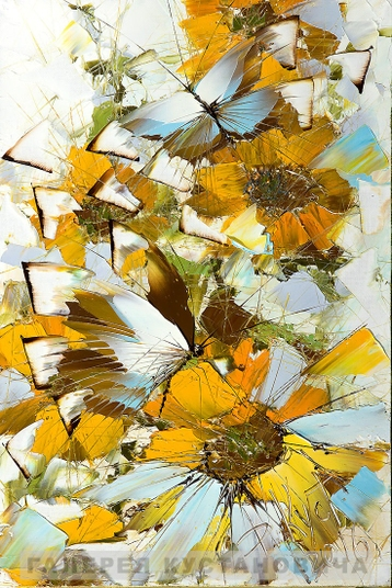 Sold paintings From series Butterflies
