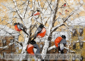 Miscellanea The bullfinches