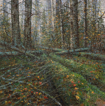 Gallery In the autumn forest