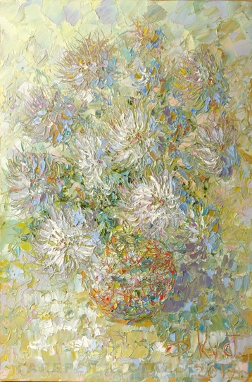 Sold paintings Asters