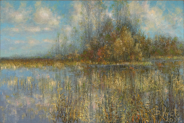 Sold paintings Autumn lake