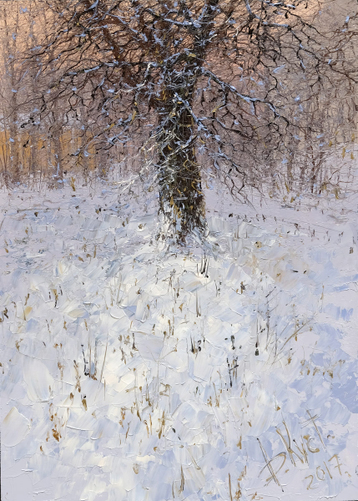 Gallery Tree in winter Yusupov garden
