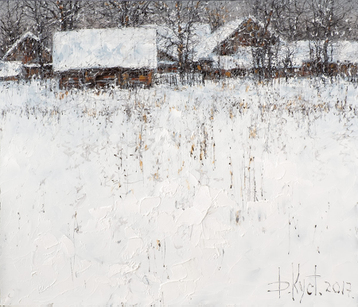Gallery Winter on the outskirts of the village
