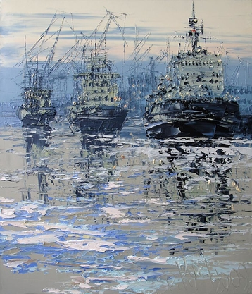 Sold paintings Icebreakers