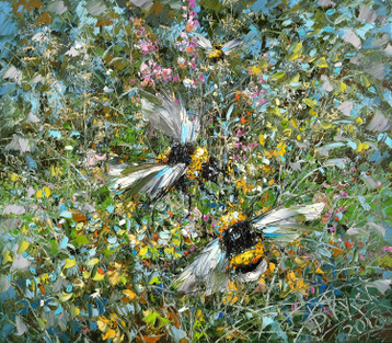 Sold paintings Bumblebees