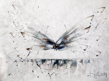 Sold paintings Dragonfly
