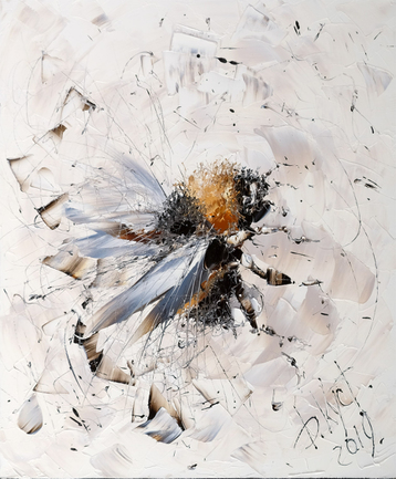 Sold paintings Flight of the bumblebee