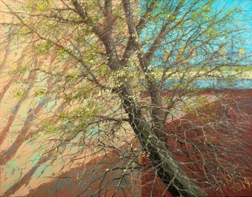 Sold paintings Spring tree