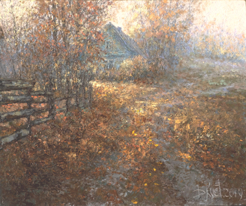 Sold paintings Autumn serenity