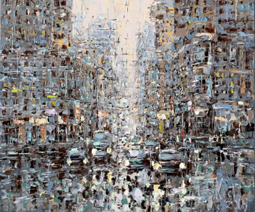 Sold paintings City morning