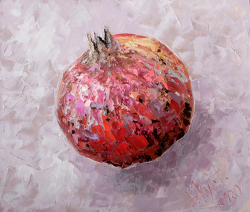 Sold paintings Pomegranate