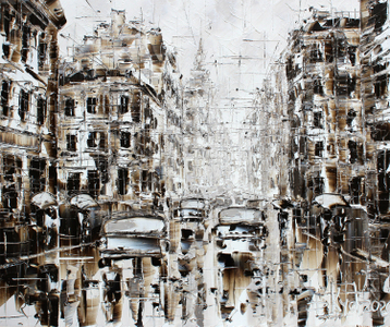 Sold paintings From series «City Rains»