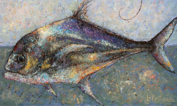 Sold paintings Fish of warm seas