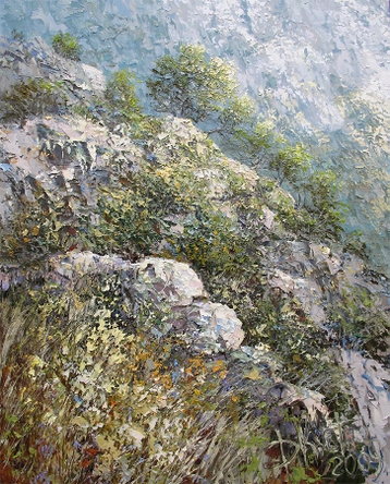 Sold paintings In the Crimean Mountains. From series The Crimea