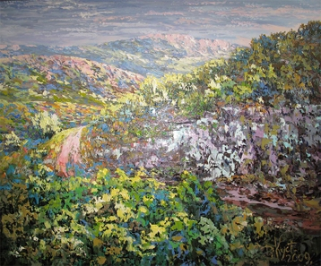 Sold paintings Symphony of the Crimean mountains. From the series Crimea
