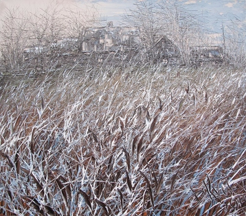 Sold paintings The first hoarfrost. From series Russian