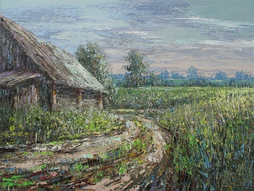 Sold paintings Country Track. From the series My Little homeland - Belarus
