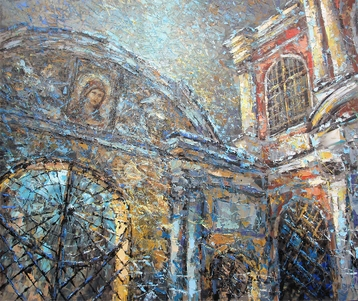 Sold paintings On the eve of Christmas. Annunciation Gate