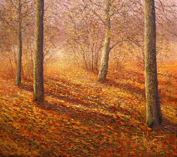 Sold paintings Autumn Sun