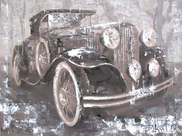 Sold paintings Oldtimer