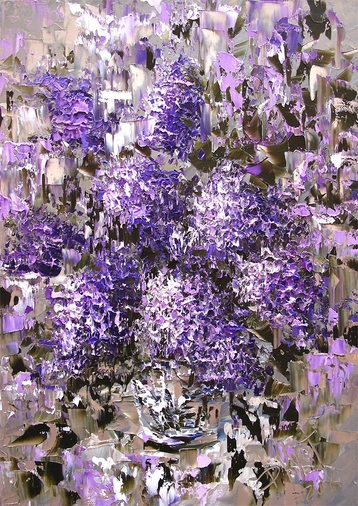 Sold paintings Etude Lilac Bouquet