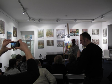 MasterClass Master class of artist Dmitry Kustanovich  | Saint-Petersburg February 02, 2011